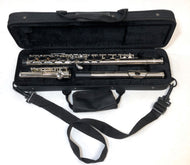 FM Student Flute Outfit  - Nickel Keys/Parts and Hardshell Case - F1002 - Fornaszewski Music Store, Granite City IL 62040 - www.stanf.com
