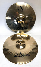 Load image into Gallery viewer, 14 inch A Custom MasterSound Hi-Hat Cymbals Pair 1042g+1192g - Z162 - Fornaszewski Music Store, Granite City IL 62040 - www.stanf.com