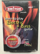 Learn To Play Electric Bass Guitar DVD - Fornaszewski Music Store, Granite City IL 62040 - www.stanf.com