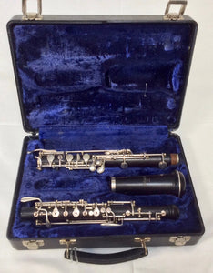 Pre-owned Selmer Intermediate Wood Oboe - serviced & ready to play - Fornaszewski Music Store, Granite City IL 62040 - www.stanf.com
