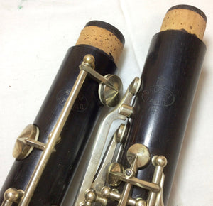 Vintage D. Noblet Paris Wood Clarinet - serviced & ready to play - F582