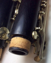 Load image into Gallery viewer, Vintage D. Noblet Paris Wood Clarinet - serviced & ready to play - F582