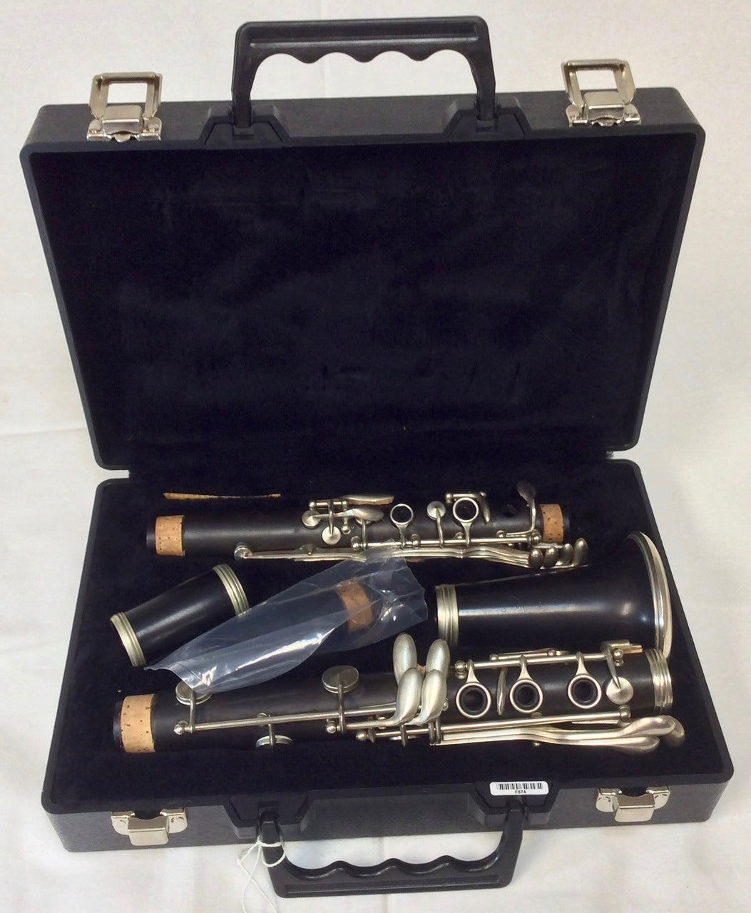 Pre-owned Dupont Paris France Wood Clarinet - Serviced & ready to play - F574 - Fornaszewski Music Store, Granite City IL 62040 - www.stanf.com