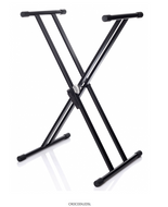 Bespeco - used Double X Keyboard Stand - Fornaszewski Music Store, Granite City IL 62040 - www.stanf.com
