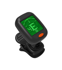Alvarez AT15 - Digital Chromatic Clip-on Tuner for Guitar / Bass / Violin / Ukulele - Fornaszewski Music Store, Granite City IL 62040 - www.stanf.com