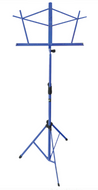 Hamilton Folding Music Stand KB900BL Blue - Fornaszewski Music Store, Granite City IL 62040 - www.stanf.com