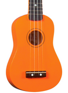 Diamond Head - Soprano Ukulele - Orange - Fornaszewski Music Store, Granite City IL 62040 - www.stanf.com