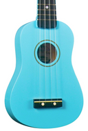 Diamond Head - Soprano Ukulele - Light Blue - Fornaszewski Music Store, Granite City IL 62040 - www.stanf.com