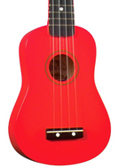 Diamond Head - Soprano Ukulele - Red - Fornaszewski Music Store, Granite City IL 62040 - www.stanf.com