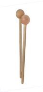 Wood Bell & Xylo Mallets - 1 Pair - Fornaszewski Music Store, Granite City IL 62040 - www.stanf.com