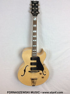 Dean Palomino GN More Jazz Cut-away Arch Top Hollow Body Electric Guitar - G148