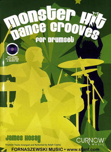 Play Along - Monster Hit Dance Grooves For Drumset - Book/CD - Fornaszewski Music Store, Granite City IL 62040 - www.stanf.com