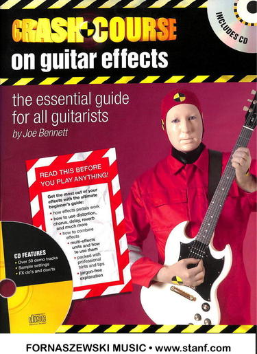 Hal Leonard - Crash Course on Guitar Effects CD - Fornaszewski Music Store, Granite City IL 62040 - www.stanf.com