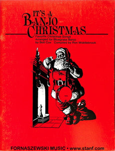 Its A Banjo Christmas - Banjo - Fornaszewski Music Store, Granite City IL 62040 - www.stanf.com