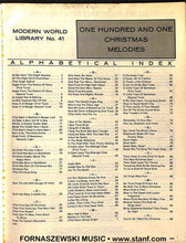 Load image into Gallery viewer, 101 Christmas Melodies for Easy Piano and Organ - Fornaszewski Music Store, Granite City IL 62040 - www.stanf.com