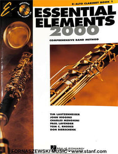 Essential Elements for Band - Book 1 - Eb Alto Clarinet - Fornaszewski Music Store, Granite City IL 62040 - www.stanf.com