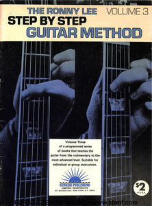 Ronnie Lee - Step by Step Guitar Method - Volume 3 - Fornaszewski Music Store, Granite City IL 62040 - www.stanf.com