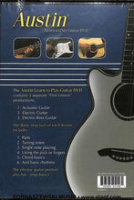 Load image into Gallery viewer, Austin - Learn To Play Guitar DVD