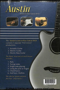 Austin - Learn To Play Guitar DVD