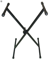SLM SSHB822B - Single X Keyboard Stand - Fornaszewski Music Store, Granite City IL 62040 - www.stanf.com
