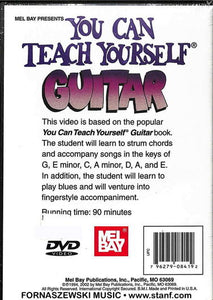 Mel Bay - You Can Teach Yourself - Guitar DVD