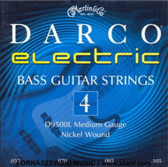 Martin D9500L Darco Nickel Plated Bass Guitar Strings, Medium, .050-.105 - Fornaszewski Music Store, Granite City IL 62040 - www.stanf.com