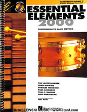 Load image into Gallery viewer, Essential Elements for Band - Book 1 - Percussion - Fornaszewski Music Store, Granite City IL 62040 - www.stanf.com