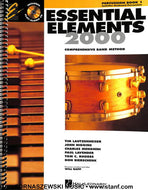 Essential Elements for Band - Book 1 - Percussion - Fornaszewski Music Store, Granite City IL 62040 - www.stanf.com