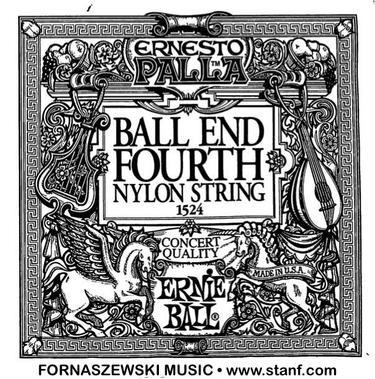 Ernie Ball - Ball End Black Forth Nylon String 1524 - Fornaszewski Music Store, Granite City IL 62040 - www.stanf.com