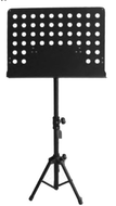 Hamilton KB991BL Stagepro Conductors Stand with Tripod - Black - Fornaszewski Music Store, Granite City IL 62040 - www.stanf.com