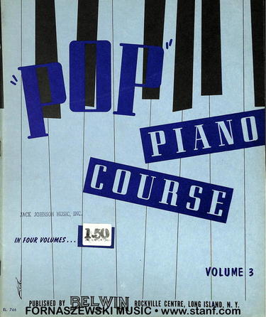 Schaum Pop Piano Course - Volume 3 - Fornaszewski Music Store, Granite City IL 62040 - www.stanf.com