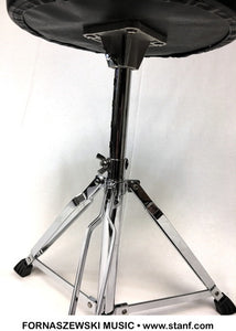 Adult Height Drum Throne - Chrome Base - Fornaszewski Music Store, Granite City IL 62040 - www.stanf.com