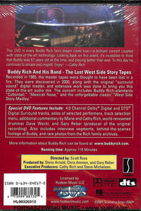 Buddy Rich - Lost West Side Story Tapes - DVD
