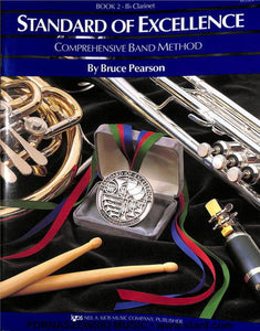Standard Of Excellence Book 2 - Bb Clarinet - Fornaszewski Music Store, Granite City IL 62040 - www.stanf.com
