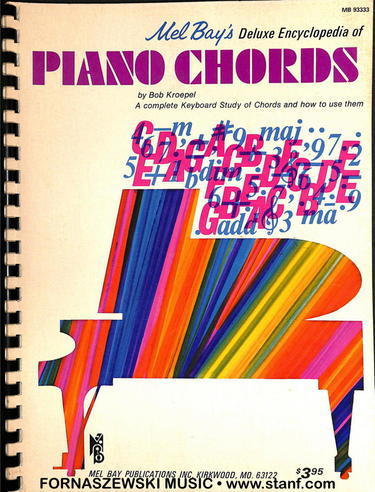 Mel Bays - Deluxe Encyclopedia Of Piano Chords - Fornaszewski Music Store, Granite City IL 62040 - www.stanf.com