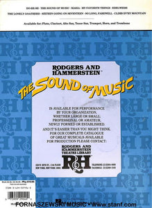 Play Along - The Sound Of Music For Tenor Sax Book/CD - Fornaszewski Music Store, Granite City IL 62040 - www.stanf.com