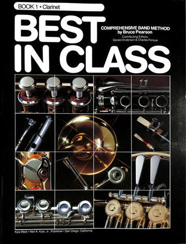 Best In Class Book 1 - Bb Clarinet - Fornaszewski Music Store, Granite City IL 62040 - www.stanf.com