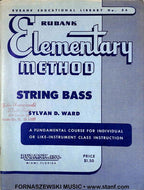 Rubank Elementary Method - String Bass Book - Fornaszewski Music Store, Granite City IL 62040 - www.stanf.com