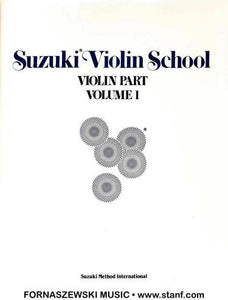 Suzuki Violin School - Violin Part - Volume 1 - Fornaszewski Music Store, Granite City IL 62040 - www.stanf.com