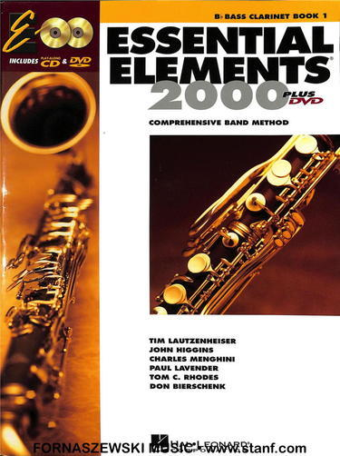 Essential Elements for Band - Book 1 - Bb Bass Clarinet - Fornaszewski Music Store, Granite City IL 62040 - www.stanf.com