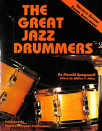 The Great Jazz Drummers W / Audio - Fornaszewski Music Store, Granite City IL 62040 - www.stanf.com