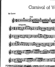 Load image into Gallery viewer, Carnival of Venice (Weber) - Solo Cornet/Trumpet w/Piano - Fornaszewski Music Store, Granite City IL 62040 - www.stanf.com
