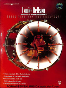 Louie Bellson Honors 12 Super Drummers - Drum Set Book CD - Fornaszewski Music Store, Granite City IL 62040 - www.stanf.com