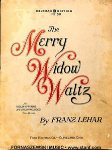 Lehar Harvey - The Merry Widow Waltz - Fornaszewski Music Store, Granite City IL 62040 - www.stanf.com