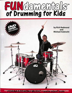 Modern Drummer - Fundamentals Of Drumming For Kids - Book/DVD - Fornaszewski Music Store, Granite City IL 62040 - www.stanf.com