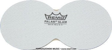 Remo The Flam Slam Double Pedal Pad KS0006PH - Fornaszewski Music Store, Granite City IL 62040 - www.stanf.com