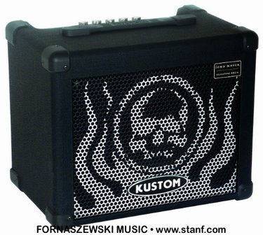 Kustom John Moyer Disturbed 16 Watt Combo Bass Amplifier - Fornaszewski Music Store, Granite City IL 62040 - www.stanf.com