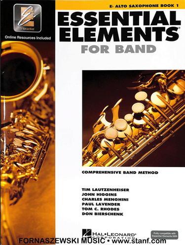 Essential Elements for Band - Book 1 - Eb Alto Saxophone - Fornaszewski Music Store, Granite City IL 62040 - www.stanf.com