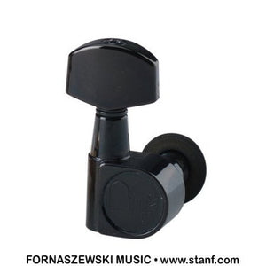 Ping P2659 6-In-Line Left Screwless Mount Black Geared Tuners - Fornaszewski Music Store, Granite City IL 62040 - www.stanf.com