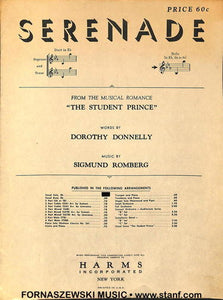 Donnelly Romberg - Serenade - Fornaszewski Music Store, Granite City IL 62040 - www.stanf.com